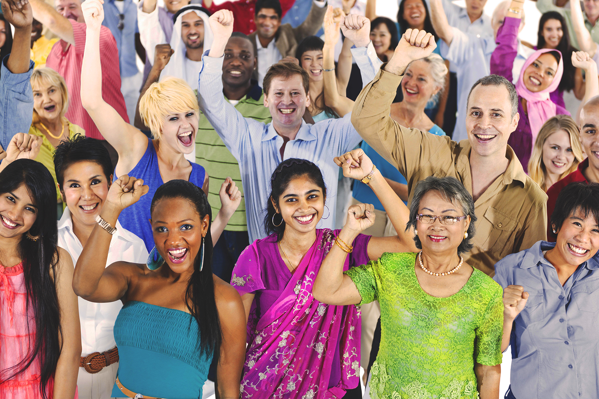 People of Diversity Including Mixed Race and Religion and Gender and Sexuality, among other things