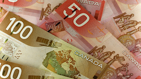 Canadian Currency of higher denominations